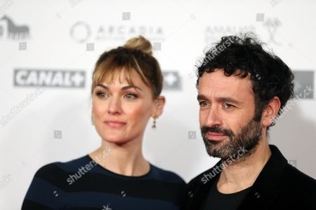 Marta Nieto (L) and film director Rodrigo Sorogoyen attend the premiere of the movie 'Mother' at the Capitol Cinemas in Madrid, Spain, 14 November 2019. 'Mother' is based in the homonymous Sorogoyen's Oscar-nominated short film of 2018, which is part of the movie.
