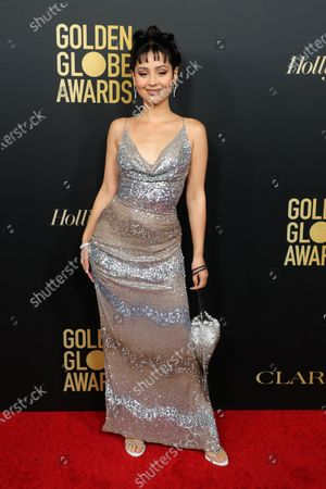 Editorial photo of Golden Globe Ambassador Launch Party, Arrivals, Catch, Los Angeles, USA - 14 Nov 2019