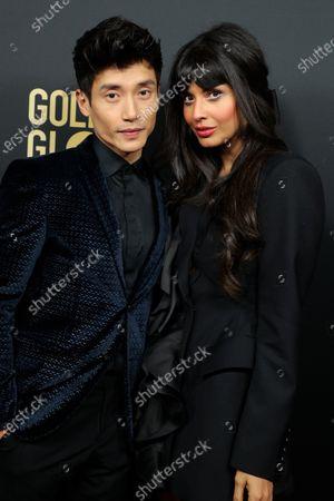 Manny Jacinto and Jameela Jamil