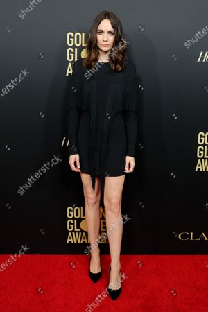 Editorial picture of Golden Globe Ambassador Launch Party, Arrivals, Catch, Los Angeles, USA - 14 Nov 2019