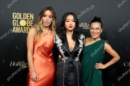 Chloe Bennet, Lana Condor and Ali Wong