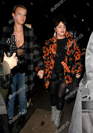 Jaime Winstone and guest