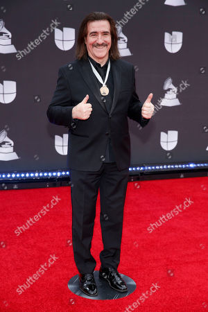 Luis Cobos arrives at the 20th Latin Grammy Awards, at the MGM Grand Garden Arena in Las Vegas