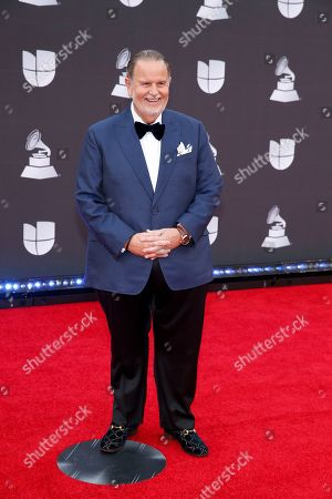 Stock Photo of Raul De Molina arrives at the 20th Latin Grammy Awards, at the MGM Grand Garden Arena in Las Vegas