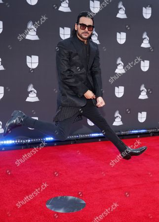 Beto Cuevas arrives at the 20th Latin Grammy Awards, at the MGM Grand Garden Arena in Las Vegas