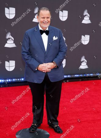 Raul De Molina arrives at the 20th Latin Grammy Awards, at the MGM Grand Garden Arena in Las Vegas