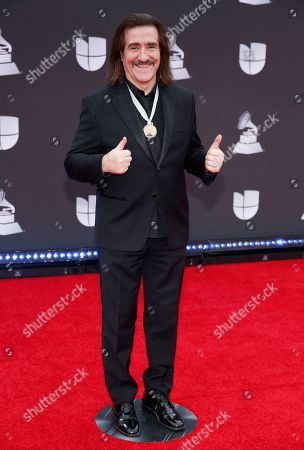 Stock Picture of Luis Cobos arrives at the 20th Latin Grammy Awards, at the MGM Grand Garden Arena in Las Vegas