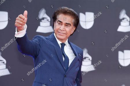 Jose Luis Rodriguez arrives at the 20th Latin Grammy Awards, at the MGM Grand Garden Arena in Las Vegas