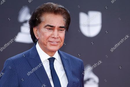 Stock Picture of Jose Luis Rodriguez arrives at the 20th Latin Grammy Awards, at the MGM Grand Garden Arena in Las Vegas