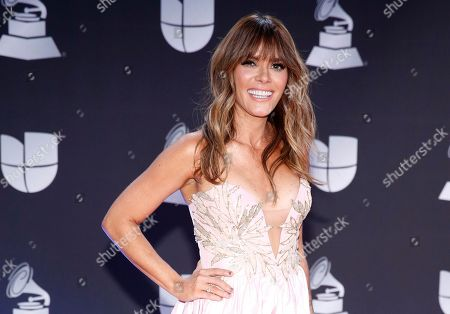 Kany Garcia arrives at the 20th Latin Grammy Awards, at the MGM Grand Garden Arena in Las Vegas