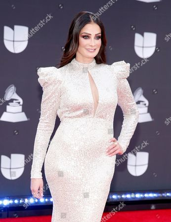 Dayanara Torres arrives at the 20th Latin Grammy Awards, at the MGM Grand Garden Arena in Las Vegas