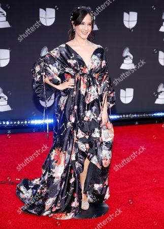 Ximena Sarinana arrives at the 20th Latin Grammy Awards, at the MGM Grand Garden Arena in Las Vegas