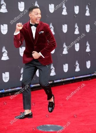 Stock Photo of Luis Sandoval arrives at the 20th Latin Grammy Awards, at the MGM Grand Garden Arena in Las Vegas