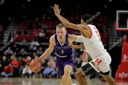 Editorial photo of Holy Cross Maryland Basketball, College Park, USA - 05 Nov 2019