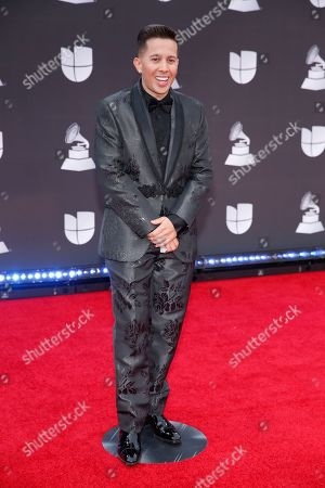 De La Ghetto arrives at the 20th Latin Grammy Awards, at the MGM Grand Garden Arena in Las Vegas