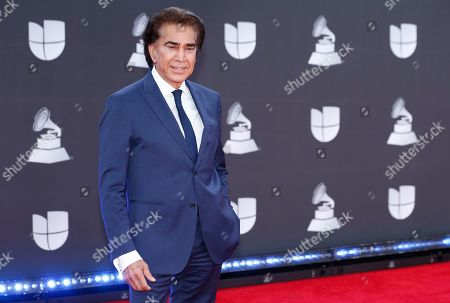 Jose Luis Rodriguez, El Puma, arrives at the 20th Latin Grammy Awards, at the MGM Grand Garden Arena in Las Vegas