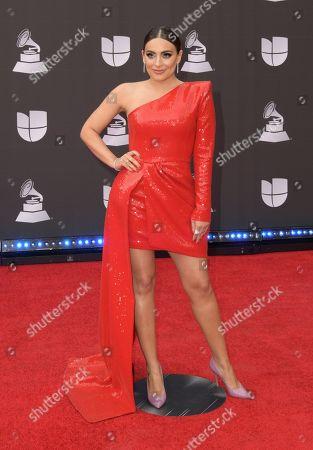 Editorial picture of Latin Grammy Awards, Arrivals, Grand Garden Arena, Las Vegas, USA - 14 Nov 2019