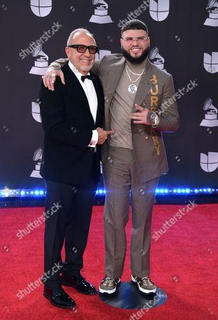 Editorial image of Latin Grammy Awards, Arrivals, Grand Garden Arena, Las Vegas, USA - 14 Nov 2019