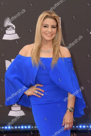 Editorial picture of Latin Grammy Awards, Arrivals, Grand Garden Arena, Las Vegas, USA - 14 Nov 2019