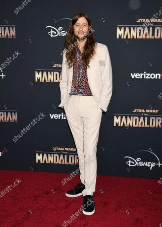 Editorial photo of 'The Mandalorian' TV show premiere, Arrivals, El Capitan Theatre, Los Angeles, USA - 13 Nov 2019