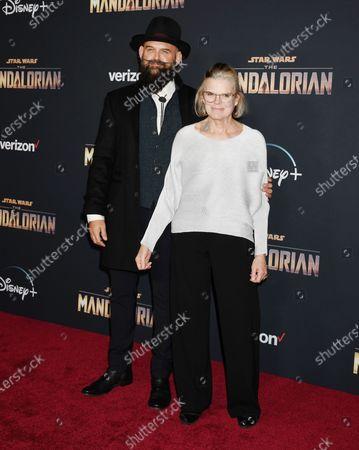 Editorial image of 'The Mandalorian' TV show premiere, Arrivals, El Capitan Theatre, Los Angeles, USA - 13 Nov 2019