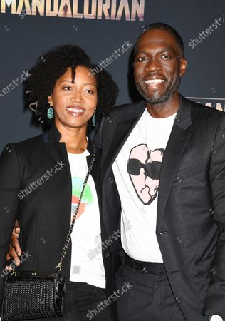 Stock Picture of Glenita Mosley and Rick Famuyiwa