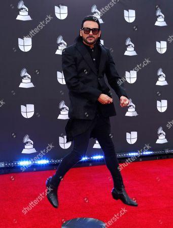 Editorial image of Arrivals - 20th Latin Grammy Awards, Las Vegas, USA - 14 Nov 2019