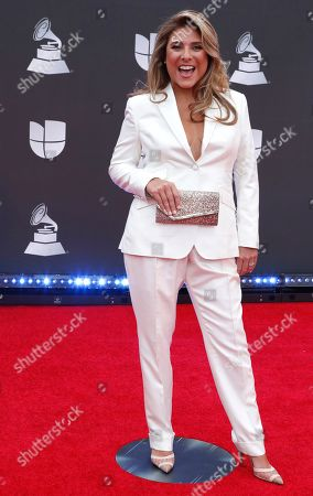 Stock Photo of Chef Lorena Garcia arrives for the 20th annual Latin Grammy Awards ceremony at the MGM Grand Garden Arena in Las Vegas, Nevada, USA, 14 November 2019. The Latin Grammys recognize artistic and/or technical achievement, not sales figures or chart positions, and the winners are determined by the votes of their peers - the qualified voting members of the Latin Recording Academy.