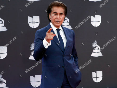 Jose Luis Rodriguez arrives for the 20th annual Latin Grammy Awards ceremony at the MGM Grand Garden Arena in Las Vegas, Nevada, USA, 14 November 2019. The Latin Grammys recognize artistic and/or technical achievement, not sales figures or chart positions, and the winners are determined by the votes of their peers - the qualified voting members of the Latin Recording Academy.