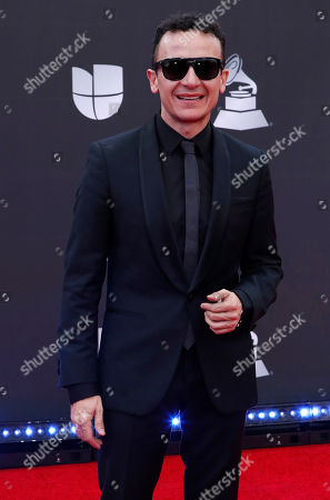 Juan Fernando Fonseca arrives for the 20th annual Latin Grammy Awards ceremony at the MGM Grand Garden Arena in Las Vegas, Nevada, USA, 14 November 2019. The Latin Grammys recognize artistic and/or technical achievement, not sales figures or chart positions, and the winners are determined by the votes of their peers - the qualified voting members of the Latin Recording Academy.