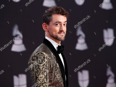 Luis Gerardo Mendez arrives for the 20th annual Latin Grammy Awards ceremony at the MGM Grand Garden Arena in Las Vegas, Nevada, USA, 14 November 2019. The Latin Grammys recognize artistic and/or technical achievement, not sales figures or chart positions, and the winners are determined by the votes of their peers - the qualified voting members of the Latin Recording Academy.