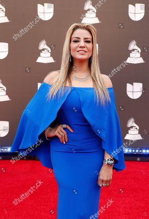 Editorial image of Arrivals - 20th Latin Grammy Awards, Las Vegas, USA - 14 Nov 2019
