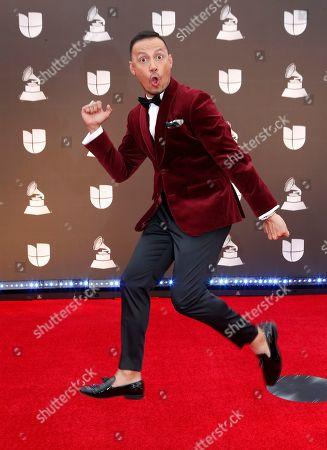 Editorial photo of Arrivals - 20th Latin Grammy Awards, Las Vegas, USA - 14 Nov 2019