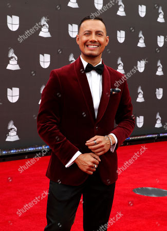 Luis Sandoval arrives for the 20th annual Latin Grammy Awards ceremony at the MGM Grand Garden Arena in Las Vegas, Nevada, USA, 14 November 2019. The Latin Grammys recognize artistic and/or technical achievement, not sales figures or chart positions, and the winners are determined by the votes of their peers - the qualified voting members of the Latin Recording Academy.
