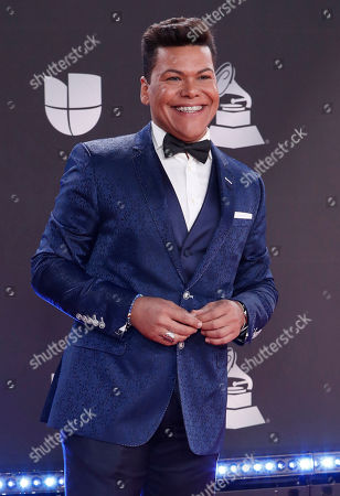 Victor Florencio 'Nino Prodigio' arrives for the 20th annual Latin Grammy Awards ceremony at the MGM Grand Garden Arena in Las Vegas, Nevada, USA, 14 November 2019. The Latin Grammys recognize artistic and/or technical achievement, not sales figures or chart positions, and the winners are determined by the votes of their peers - the qualified voting members of the Latin Recording Academy.
