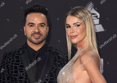 Stock Image of Luis Fonsi and Agueda Lopez