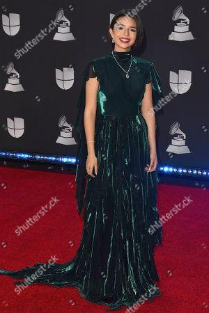 Editorial photo of Latin Grammy Awards, Arrivals, Grand Garden Arena, Las Vegas, USA - 14 Nov 2019