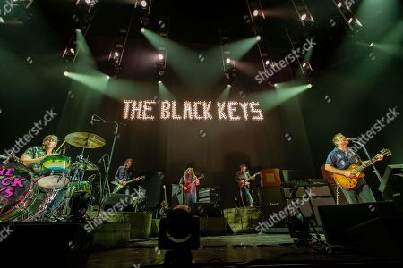 Patrick Carney and Dan Auerbach of the Black Keys perform at the Frank Erwin Center.