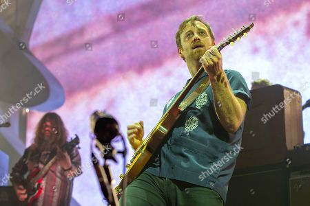 Dan Auerbach of the Black Keys performs at the Frank Erwin Center.