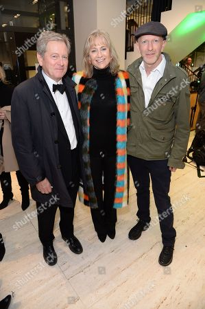 John Pawson, Lady Alison Macleod and Simon Sebag-Montefiore