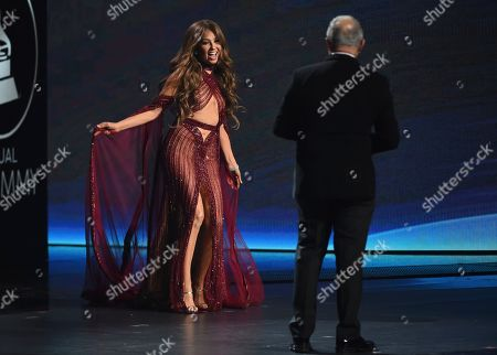 Editorial picture of 2019 Latin Grammy Awards - Show, Las Vegas, USA - 14 Nov 2019