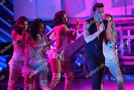 Prince Royce performs at the 20th Latin Grammy Awards, at the MGM Grand Garden Arena in Las Vegas