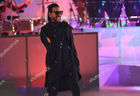 Beto Cuevas performs at the 20th Latin Grammy Awards, at the MGM Grand Garden Arena in Las Vegas