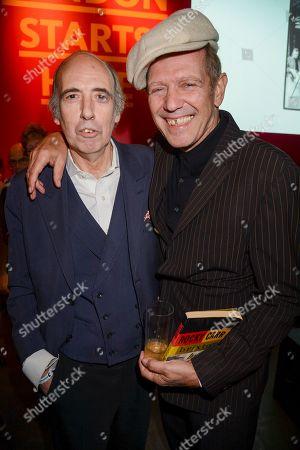 Stock Image of Mick Jones and Paul Simonon