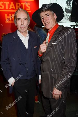 Stock Picture of Mick Jones and Gaz Mayall
