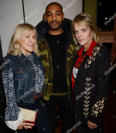 Maia Norman with Kano and Lucinda Garland