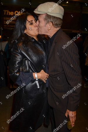 Stock Image of Serena Rees and Paul Simonon