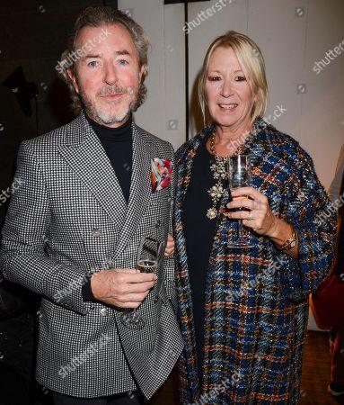 Tony James and wife