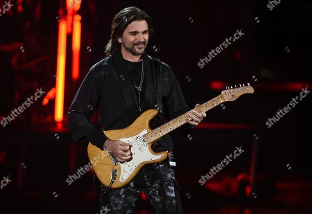 Juanes performs a medley at the 20th Latin Grammy Awards, at the MGM Grand Garden Arena in Las Vegas
