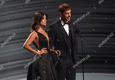 Paula Fernandes, William Levy. Paula Fernandes, left, and William Levy present the award for best urban album at the 20th Latin Grammy Awards, at the MGM Grand Garden Arena in Las Vegas